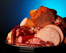 Картинка Мясные продукты Колбаса