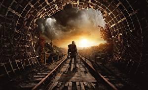 Картинка Metro Exodus Туннель Игры