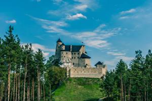Фото Польша Замки Bobolice Castle