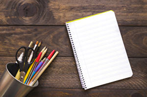 Фото Школа Доски Блокнот Карандашей Шариковая ручка