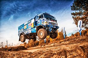 Фотографии Грузовики КАМАЗ HDRI 309 SilkWay Dakar Авто