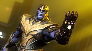 Фотография Мстители: Война бесконечности Руки Шлем thanos 3D_Графика