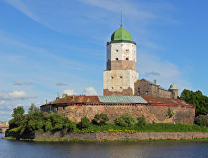 Фото Замки Россия Купол Vyborg castle, Vyborg, Leningrad region Города