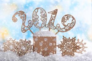 Обои Рождество 2019 Снежинки Снег