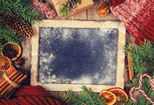 Фотография Рождество Корица Бадьян звезда аниса Шаблон поздравительной открытки Ветвь Шишки