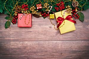 Обои Новый год Подарки Цветы картинки