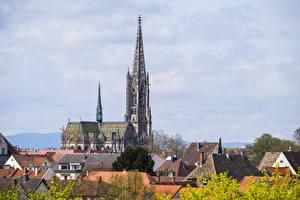 Обои Церковь Берлин Германия Храмы Здания Gedächtniskirche