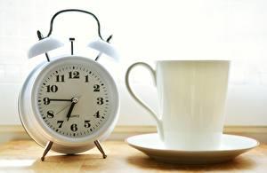 Обои Часы Циферблат Будильник Утро Кружка картинки