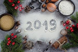 Картинка Мука Рождество 2019