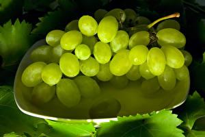 Обои Виноград Крупным планом Пища