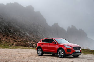 Фото Jaguar Красный 2017-18 E-Pace D240 AWD Worldwide Автомобили