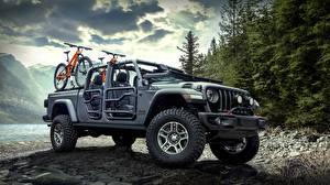Картинки Джип 2020 Jeep Gladiator Rubicon