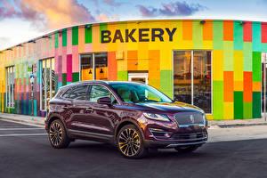Картинки Lincoln Бордовый Металлик 2019 MKC Black Label Авто
