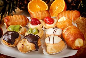 Картинки Выпечка Пирожное Шоколад Пища