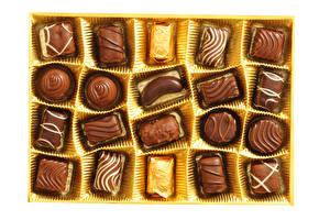 Картинка Сладкая еда Конфеты Шоколад Еда