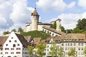 Фотография Швейцария Крепость Замки Здания Schaffhausen, Castle Munot