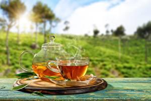 Картинки Чай Чайник Чашка Блюдца Продукты питания