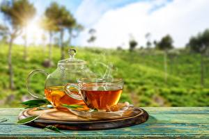 Картинки Чай Чайник Чашка Блюдце Пища