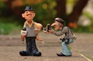 Обои Игрушки 2 Фотограф Шляпа