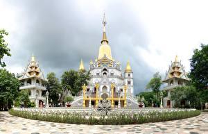 Фотография Вьетнам Храмы Религия Buulong Города