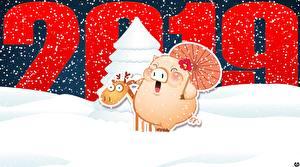 Фотографии Новый год 2019 Снег