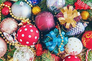 Фотография Рождество Шар Разноцветные