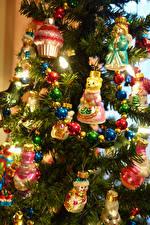 Картинка Рождество Новогодняя ёлка Шар