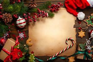 Фото Новый год Шаблон поздравительной открытки