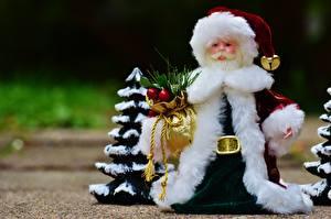 Фотографии Новый год Шапки Дед Мороз Подарки