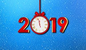 Картинка Часы Рождество 2019