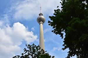 Фото Германия Берлин Башня Города