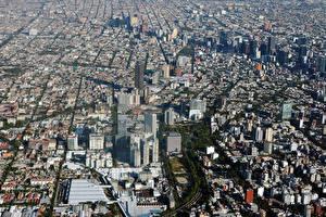 Обои Мексика Здания Мегаполис Mexico City