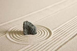 Обои Камни Песка Окружность zen