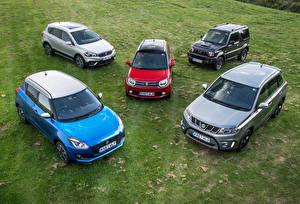 Обои Suzuki - Автомобили Много Автомобили
