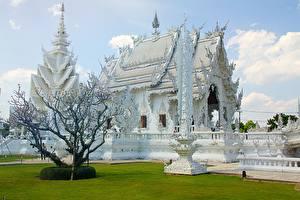 Фото Таиланд Храмы Chiang Rai, White temple