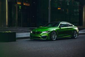 Фото BMW Зеленые m4 Автомобили