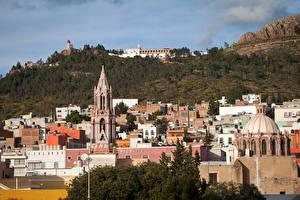 Фотография Мексика Здания Zacatecas