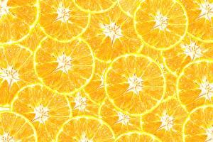 Картинка Апельсин Текстура Желтый Еда