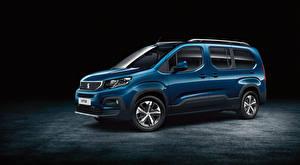 Фотографии Peugeot Синий Металлик 2018 Rifter Long Worldwide автомобиль