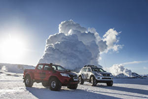 Картинки Тойота 2 Arctic Trucks Land Cruiser Prado AT38, Arctic Trucks Hilux Double Cab AT38 автомобиль
