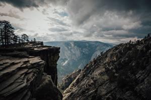Обои Штаты Парк Гора Йосемити Калифорния Скале