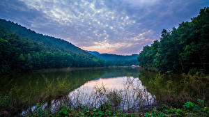 Обои Вьетнам Реки Леса Природа картинки