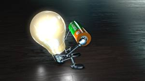 Картинки Креатив Сидящие Лампочка Смешные