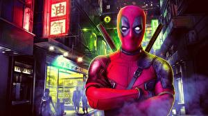 Фотографии Deadpool герой Фантастика