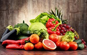 Фото Фрукты Овощи