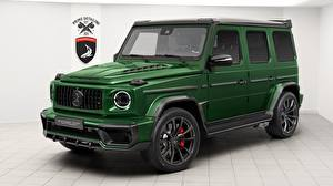 Обои G-класс Мерседес бенц Зеленый AMG Inferno, TopCar, G63, 2019 Автомобили