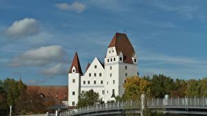 Фотографии Германия Замки Бавария Ingolstadt город