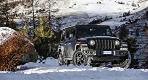 Фото Jeep Внедорожник Черная 2018-19 Wrangler Unlimited Rubicon автомобиль