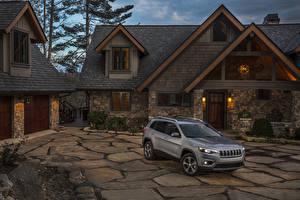 Фото Jeep Серый 2019 Cherokee Limited Авто