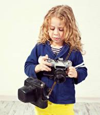 Фото Девочки Фотоаппарат